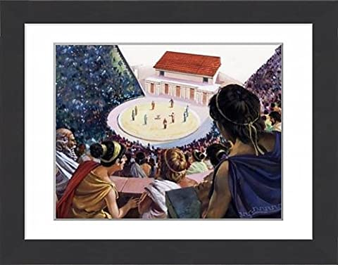 Framed Print of Greek theatre