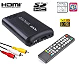 Mediacenter box multimediale Hdd ssd 2,5' sata HDMI Full-HD Mkv Usb...