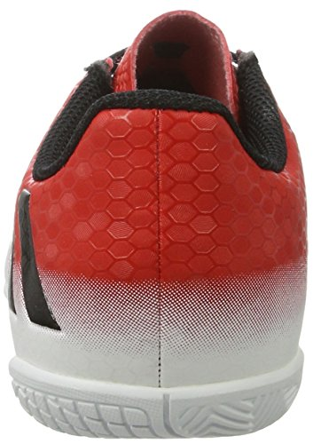 adidas Messi 16.4 In, Chaussures de Football Garçon, Rojo,Blanco Rouge (Red/core Black/ftwr White)