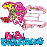 6 Einladungskarten * BIBI BLOCKSBERG * für Kinderparty und Kindergeburtstag von DH-Konzept // Hexe Streiche Einladungen Invites Party Set Marita Florian Moni