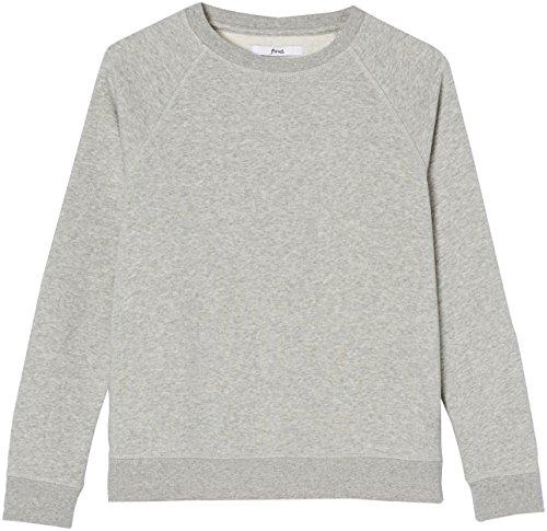 FIND Damen Sweatshirt Grau (Grey Grey Marl)