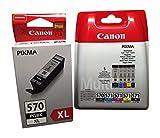 Canon Sparpack 6 Patronen PGI-570bk CLI-571 c,y,m,bk + PGI-570XL black