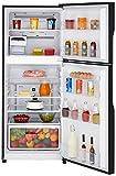 Hitachi 451 L 2 Star Frost Free Double Door Refrigerator(R-VG470PND3- (GBK), Black, Inverter Compressor)