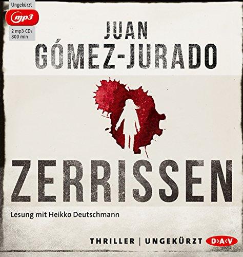 Buchseite und Rezensionen zu 'Zerrissen: Ungekürzte Lesung mit Heikko Deutschmann (2 mp3-CDs)' von Juan Gómez-Jurado