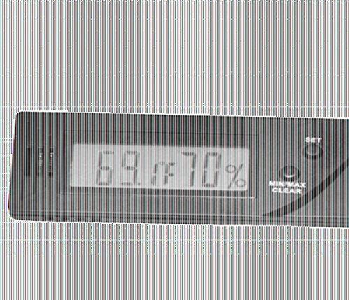 Lifestyle-Ambiente Caliber IV Präzisions-Hygrometer +/-1{d115a3fdb94d2a3ae9a017b1a5bff661b3c73cfe47088388ed916e5770a318a8} RF