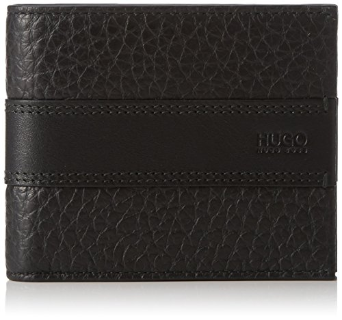HUGO Herren Neoclassic_Trifold 10183242 01 Geldbörsen, Schwarz (Black 001), 3x12x10 cm