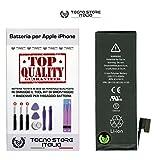 TSI® Batteria di Ricambio per iPhone 5, Capacità 1440 mAh apn 616-0610/11/13, + Tool Kit Smontaggio, Biadesivo e Istruzioni immagine