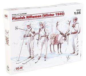 ICM 035566-1/35WWII finlandesa Infantería plástico Maqueta de