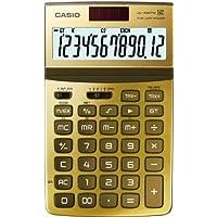 CASIO JW-200TW GD calcolatrice da tavolo -Display a 12 cifre, struttura in metallo di colore oro - Confronta prezzi
