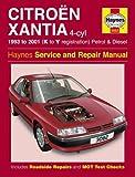 Citroen Xantia Petrol & Diesel (93 - 01) Haynes Repair Manual: 1993 to 2001 (K to Y Reg) (Haynes Service and Repair Manuals)