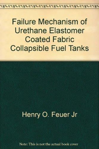 Failure Mechanism of Urethane Elastomer Coated Fabric Collapsible Fuel Tanks -