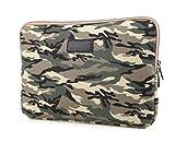 Camouflage Laptop-Schutzhülle Laptoptasche Hülle Notebooktasche Laptophülle Notebook Tasche für...