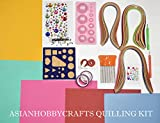 AsianHobbyCrafts Quilling Kit Contents 3...