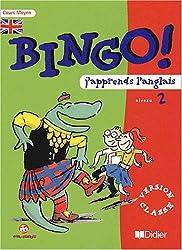 J'apprends l'anglais Bingo! Niveau 2