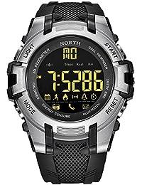 OGYA North Men's Smart Watch Fitness Tracker Sports Smart Watch Digital Watch