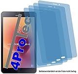 4x ANTIREFLEX matt Schutzfolie für Samsung Galaxy Tab A 8.0 2017 Displayschutzfolie Bildschirmschutzfolie Schutzhülle Displayschutz Displayfolie Folie