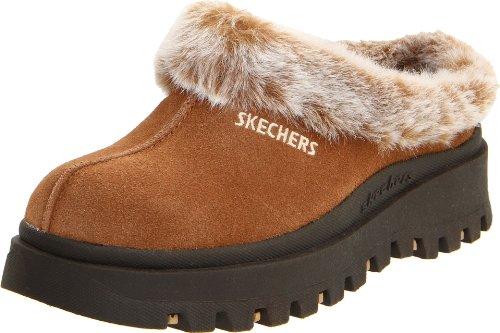 Skechers Fortress Clog Slipper Noisette