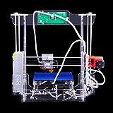 Stampante 3D P802M, grande dimensione di stampa, schermo LCD in acrilico trasparente, display HD, supporta scheda di memoria Secure Digital da 8 G, spina EU