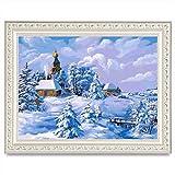 TAOtTAO 5D Stickerei Gemälde Strass eingefügt DIY Diamant Malerei Kreuzstich (B)