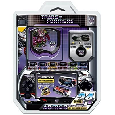 Core Gamer Decepticons: Transformers Protection Kit (PSP)