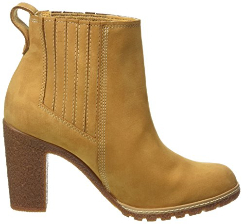Timberland Glancy Chelsea bottes  femme Marron - Braun (Wheat Nubuck)