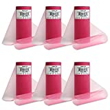 """Expo International Pack of 6 Classic 6"""" Tulle Spool of 25 Yards TL2400FS-6 6"""" Yd, Fuchsia, 6 Piece"""