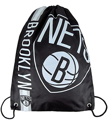 forever-collectibles-nba-brooklyn-nets-logo-gymbag-gymsack-turnbeutel-black