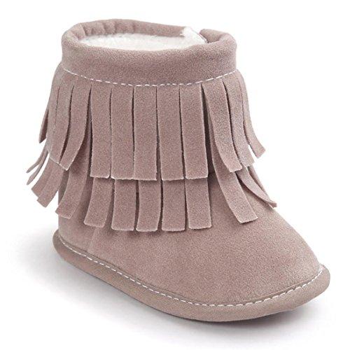 Zapatos bebé, Culater Patucos doble Capa 0~18 meses
