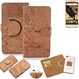 K-S-Trade 360° Cover cork Case for Allview P8 Pro |