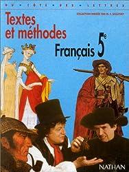 Textes et méthodes français 5e