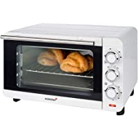 Korona 57004 Four à pain   blanc   14 litres   Mini-four avec plateau ramasse-miettes amovible   Petit four   1200 watts