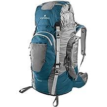 Mochila de senderismo Ferrino Chilkoot 75, azules, 75 l