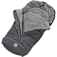 Clevamama Universal Footmuff for Stroller and Pushchair (Polyester, Grey) - ukpricecomparsion.eu
