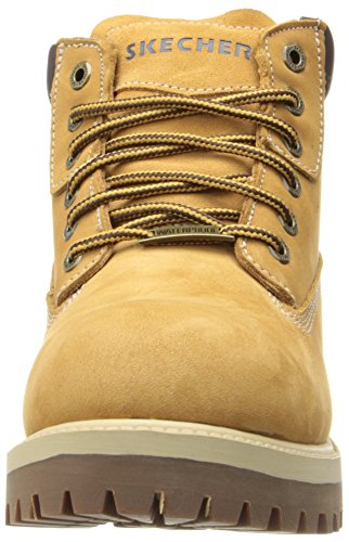 Skechers Sergeants-Verdict, Chaussures montantes homme Beige (Beige (Wtn))