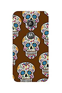 ZAPCASE PRINTED BACK COVER FOR Motorola Moto E(2nd Gen.)