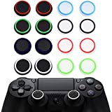 16pcs Thumb Grip Thumbstick Noctilucent Sets f�r PS2, PS3, PS4, Xbox 360, Xbox One Controller Bild