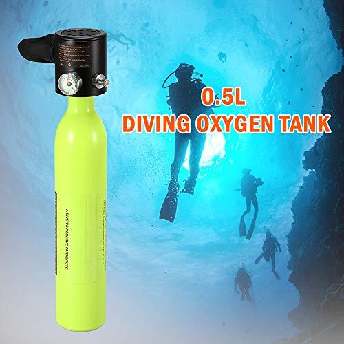 rcheln Unterwasser Atemregler Mini Scuba Oxygen Air Tanks Tauchausrüstung Atemregler Tauchen Atemschutzmaske ()