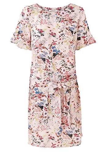 Promod Robe imprimée Femme Imprimé rose