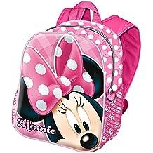 Karactermania Minnie Mouse Joyful Mochila infantil, 29 cm, Rosa