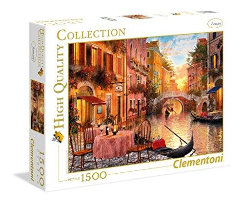 Clementoni 31668.7 - 1500 T Collection Venedig, Klassische Puzzle