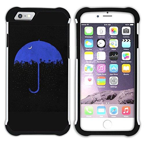 Graphic4You Mermaid Underwater Design Hart + Weiche Kratzfeste Hülle Case Schale Tasche Schutzhülle für Apple iPhone 6 Plus / 6S Plus Design #2
