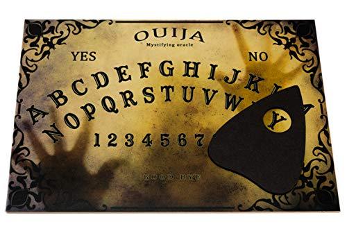 Wiccan Star Ouija Brett. Hexenbrett mit detaillierten anweisungen. Wahrsagerbrett (Ouija-brett)