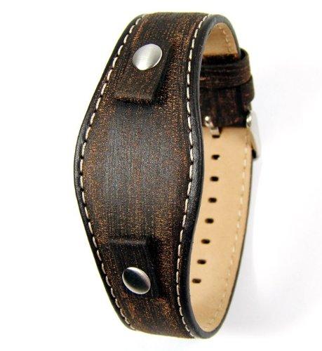 Fossil Uhrband Ersatzband Uhrenarmband Wechselarmband LB-JR8130 Original Lederband für JR 8130