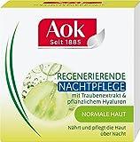 Aok Regenerierende Nachtpflege mit Traubenextrakt und pflanzlichem Hyaluron