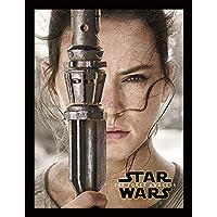 Star Wars Episode VII (Rey Teaser) Memorabilia, Multi-Colour, 30 x 40 cm preiswert