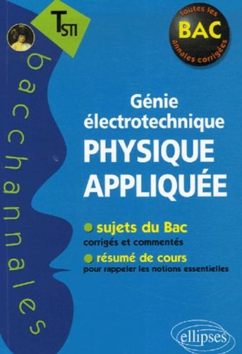 Physique appliquée Te STI : Génie électrotechnique