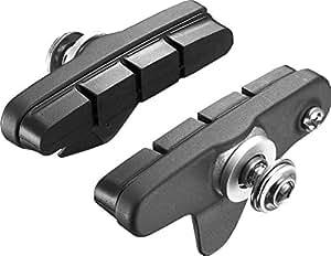 Shimano R55C3Cartridge pour BR de R561Patin de frein, Mixte, Y-8K698030, Noir , 1 Paar