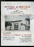 Telecharger Livres MUTUELLE DU SPECTACLE DE BORDEAUX ET DU SUD OUEST (PDF,EPUB,MOBI) gratuits en Francaise