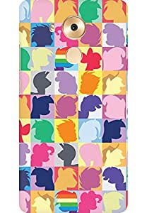 AMEZ designer printed 3d premium high quality back case cover for Huawei Mate 8 (My little pony twilight sparkle pinkie pie rainbow dash)