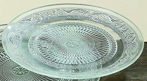 Boltze Assiette Verre d25cm Relief